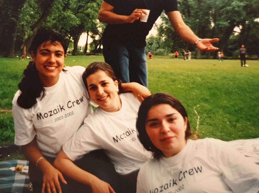 Studentenvereniging Mozaik crew