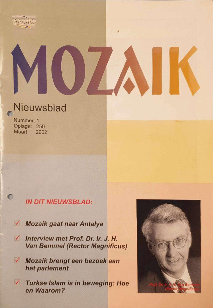 Studentenvereniging Mozaik Tijdschrift