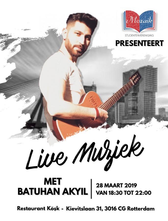 Live Muziek Avond SV Mozaik Batuhan Akyil