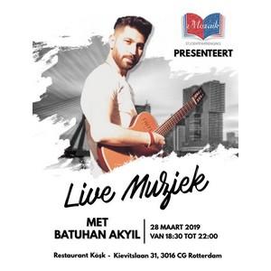 Uitgelichte foto Live Muziek SV Mozaik Batuhan Akyil